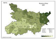 Populations of Bihar