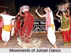 Folk Dances of Bihar (Jumari Dance)