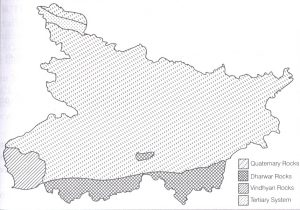 Geographical location of Bihar