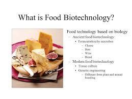 Food bio technology