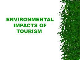 Environmental concerns of tourism